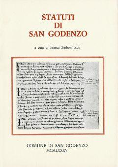 Statuti di San Godenzo, copertina