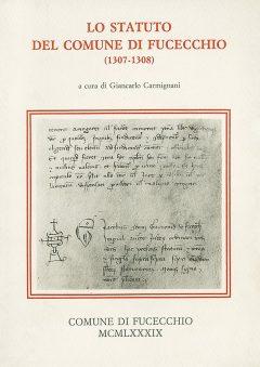 Lo statuto del comune di Fucecchio, copertina