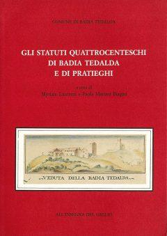 Fonti quattrocentesche, Badia Tedalda e Pratieghi, copertina