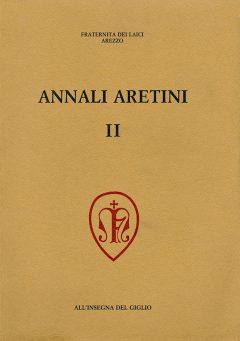 Annali Aretini II, copertina.