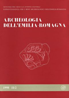 Archeologia dell'Emilia Romagna, 1998 II/2, copertina.