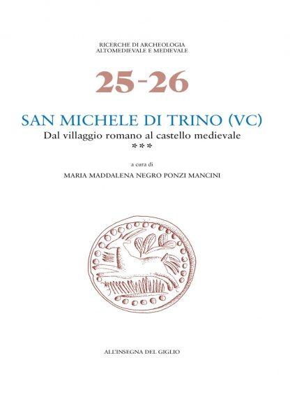 San Michele di Trino ***, copertina.