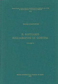Il santuario sull'acropoli di Gortina, II, copertina.