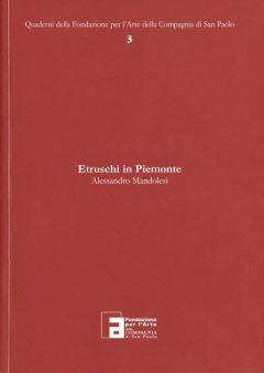 Etruschi in Piemonte, copertina