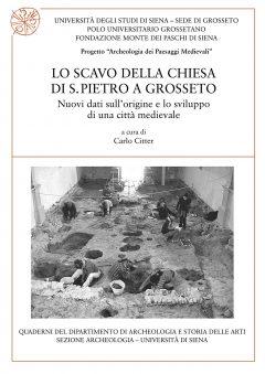 Lo scavo della chiesa di S. Pietro a Grosseto, copertina