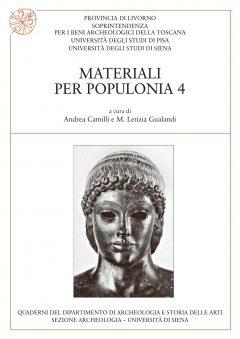 Materiali per Populonia, 4, copertina.