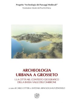 Archeologa urbana a Grosseto, copertina 1.
