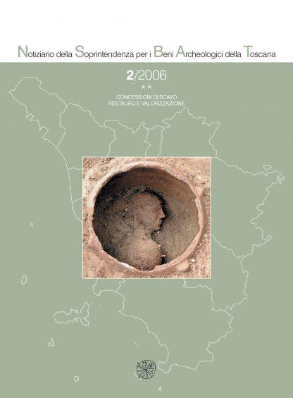 Notiziario della Soprintendenza per i Beni archeologici della Toscana, 2, 2006, tomo **, copertina.