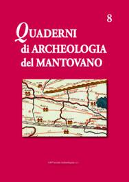 Quaderni archeologia mantovano, 8, copertina.