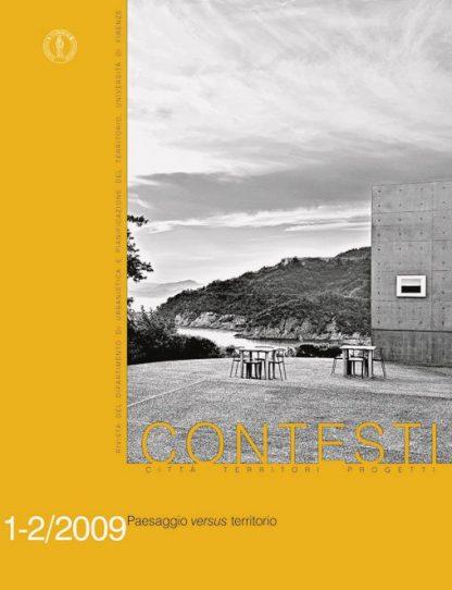Contesti 1-2/2009, copertina.