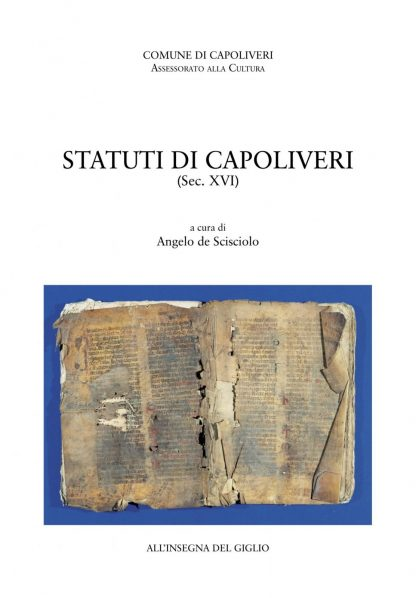 Statuti di Capoliveri (Sec. XVI)