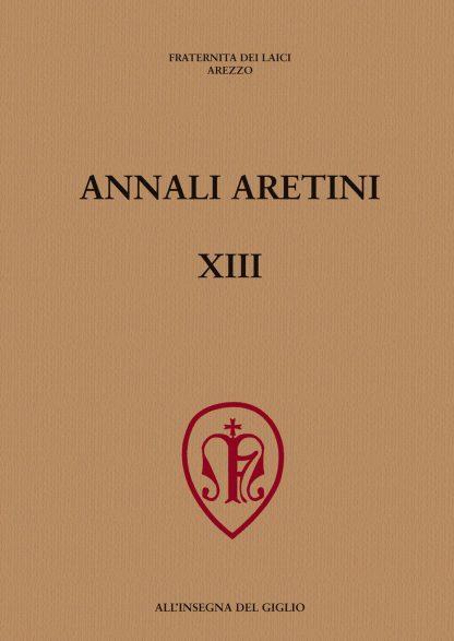 Annali Aretini, XIII, 2005, copertina.