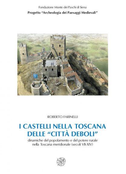 """I castelli nella Toscana delle """"città deboli"""", copertina."""