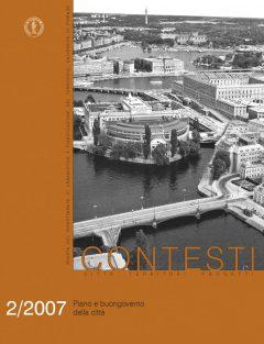 Contesti - Città Territori Progetti 2/2007, Piano e Buongoverno della città