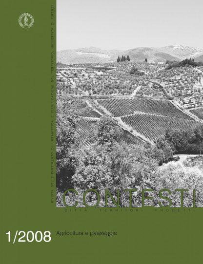 Contesti - Città Territori Progetti 1/2008, Agricoltura e paesaggio