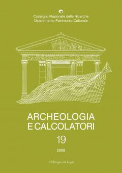 Archeologia e Calcolatori, 19, 2008