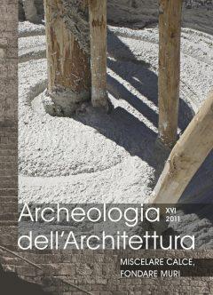 Archeologia dell'Architettura 16, copertina