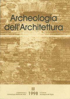 Archeologia dell'Architettura, III, 1998