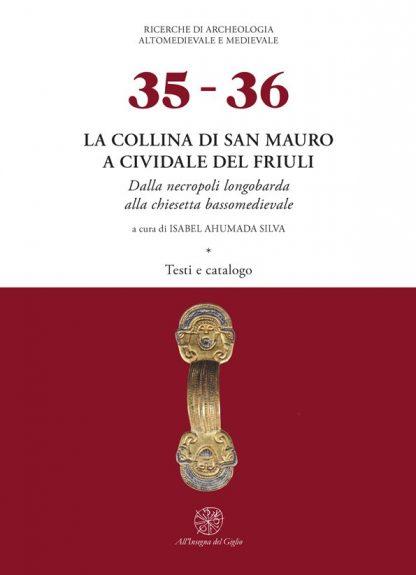 La collina di San Mauro, testi e catalogo, copertina.