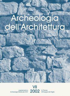 Archeologia dell'Architettura, 7, 2002, copertina.