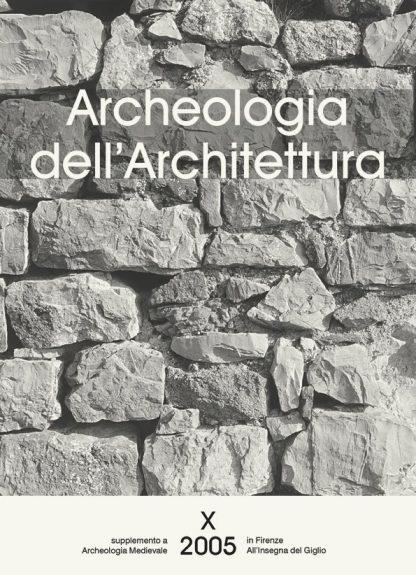 Archeologia dell'Architettura 10, copertina