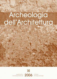 Archeologia dell'Architettura 11, copertina