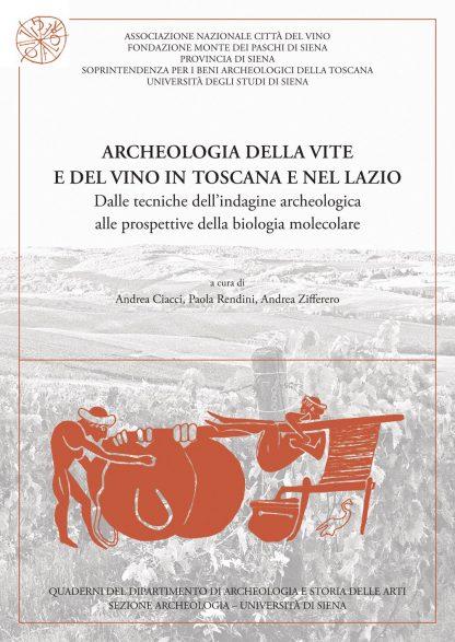 Archeologia della vite e del vino in Toscana e nel Lazio, copertina
