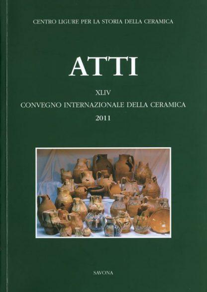 Albisola, XLIV Convegno 2011, copertina.