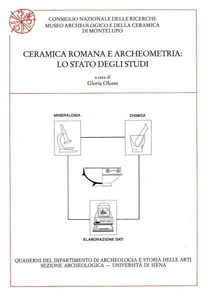 Ceramica romana e archeometria: lo stato degli studi.