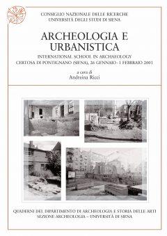 Archeologia e urbanistica, copertina.
