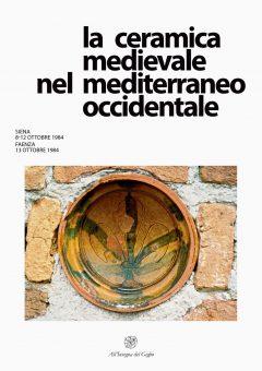 La ceramica medievale nel Mediterraneo occidentale, copertina.
