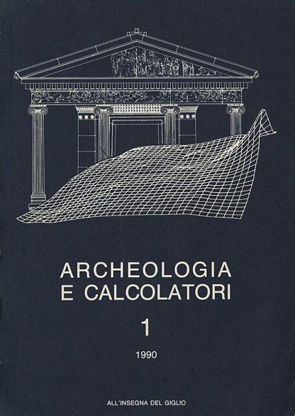 Archeologia e Calcolatori, 1, 1990, copertina.