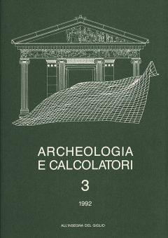 Archeologia e Calcolatori, 3, 1992, copertina.