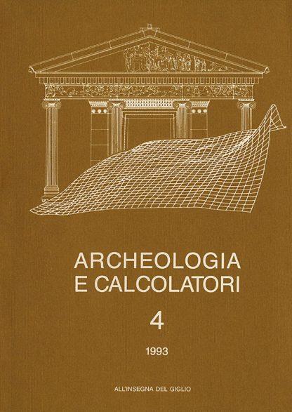 Archeologia e Calcolatori, 4, 1993, copertina.