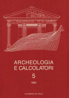 Archeologia e Calcolatori, 5, 1994, copertina.