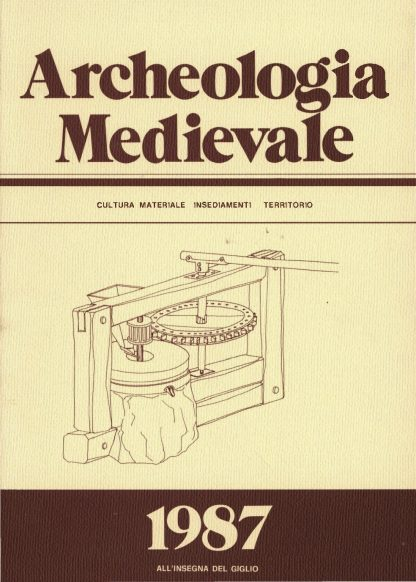 Archeologia Medievale, XIV, 1987.