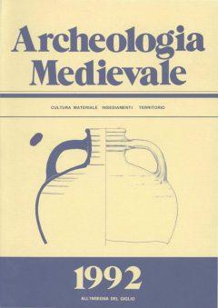 Archeologia Medievale, XIX, 1992.