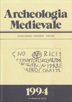 Archeologia Medievale, XXI, 1994.