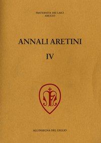 Annali Aretini, IV, 1996, copertina.