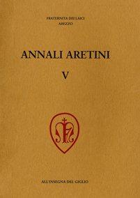 Annali Aretini, V, 1997, copertina.