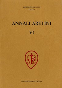 Annali Aretini, VI, 1998, copertina.