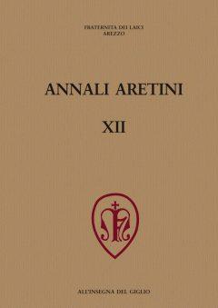 Annali Aretini, XII, 2004, copertina.