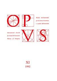 Opus, XI, 1992, copertina.