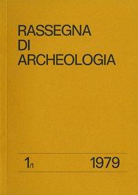 Rassegna di Archeologia, 1.1, 1979