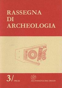 Rassegna di Archeologia, 3, 1982-83