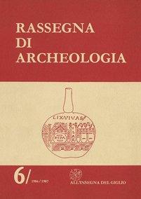 Rassegna di Archeologia, 6, 1986-1987