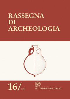 Rassegna di Archeologia, 16, 1999
