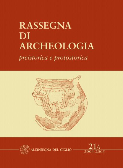 Rassegna di Archeologia, 21/A, 2004-2005 - preistorica e protostorica - Fabio Fedeli, La Necropoli protovillanoviana di Villa del Barone (Piombino, LI)