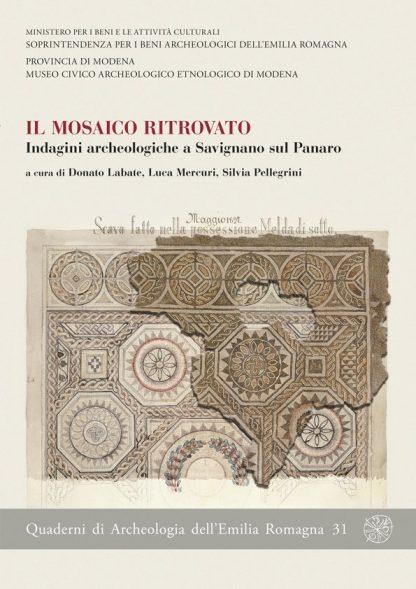 Il mosaico ritrovato, copertina.