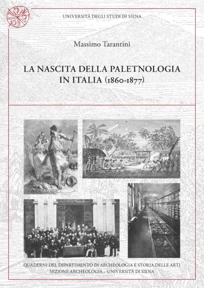 La nascita della paletnologia in Italia, copertina.